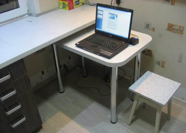 Удобная мебель для кухни.
