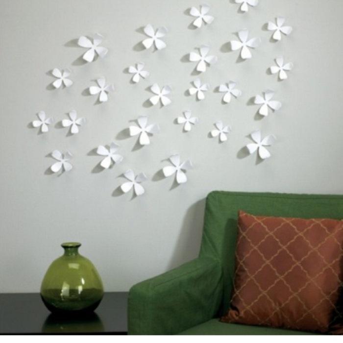 Простое, но симпатичное украшение для стен.