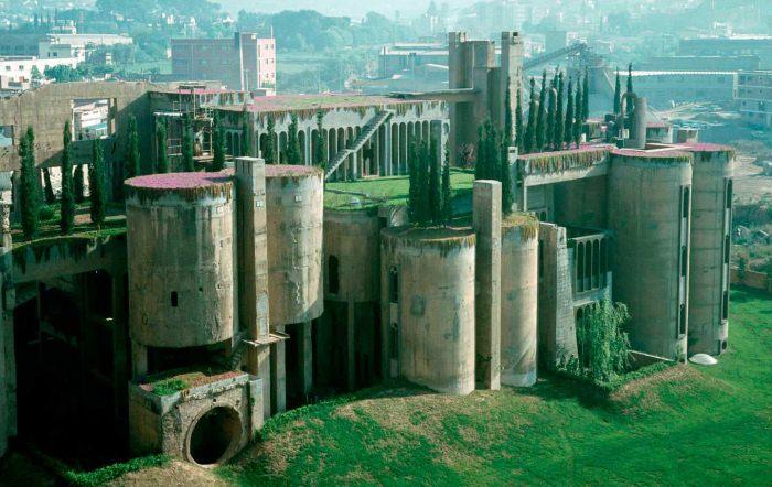 Цементный завод до реконструкции.
