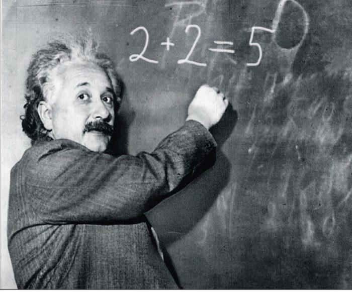 Альберт Эйнштейн усердно учился.