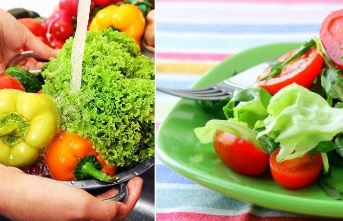 Как защитить себя от нитратов, которые содержатся в свежих овощах.