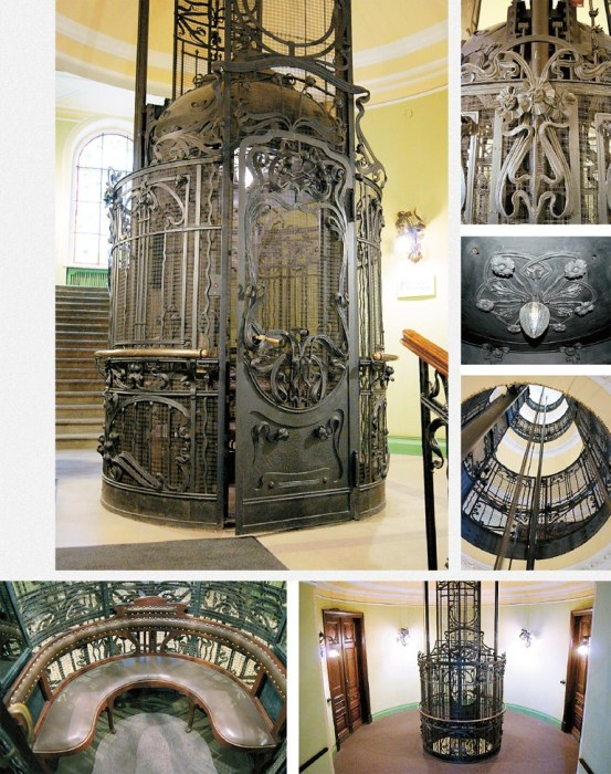 Старинные лифты Санкт-Петербурга.