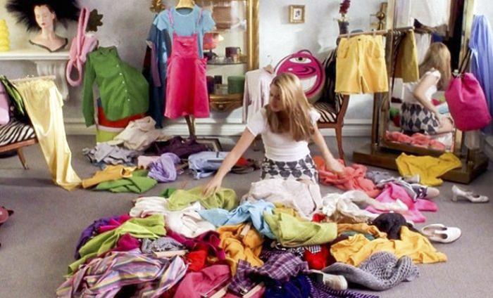 Старая одежда, которую вы уже не носите.
