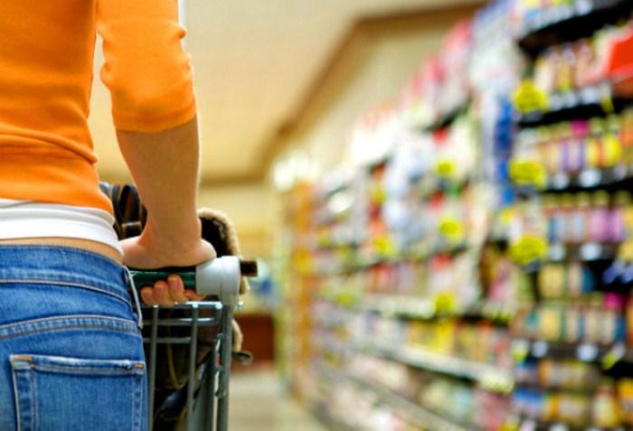 В супермаркете нужно действовать по четко намеченному плану.