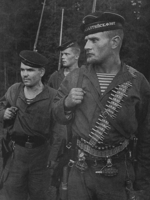 Полосатые дьяволы: морские пехотинцы на Великой Отечественной войне.
