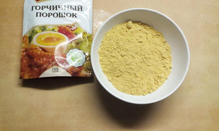 Сухая горчица - отличное натуральное чистящее средство.