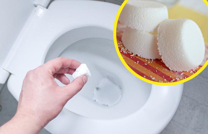 Шипучки для туалета: Как сделать своими руками отличное средство для чистки туалета.