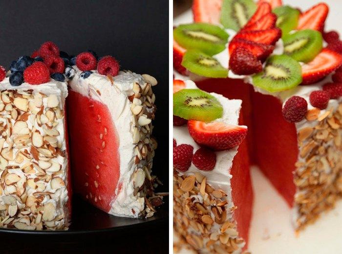 Нежный и легкий десерт.