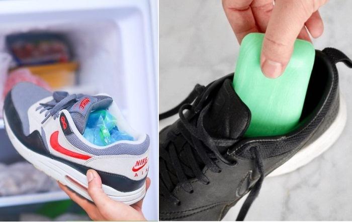 Как удалить неприятный запах обуви