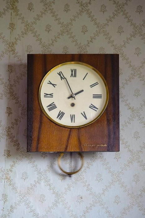 Часы Янтарь все еще работают исправно.