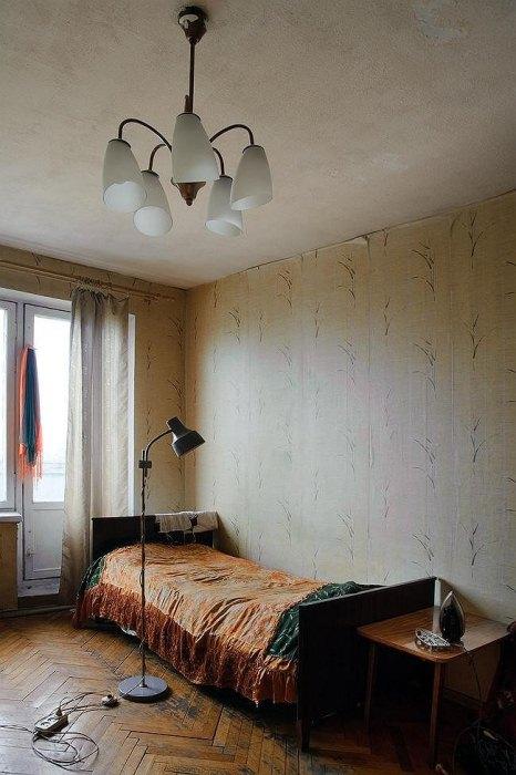 Советский интерьер квартиры Алексея Кулькова.