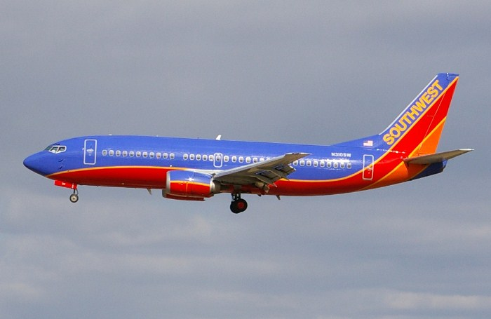 Цветной самолет.