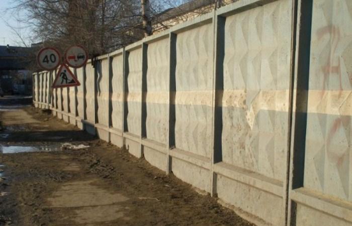 Забор с ромбиками - один из масштабных советских проектов.