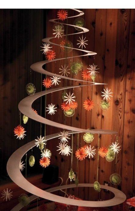 Так выглядит готовая елка. /Фото: i.pinimg.com