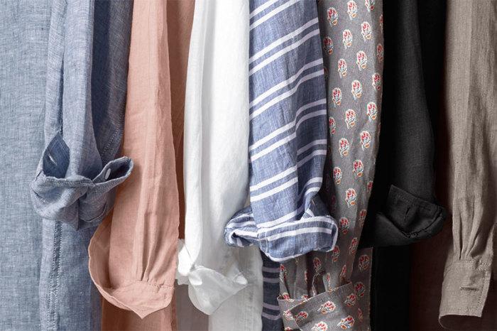 Льняные вещи - пример того, как может дорого выглядеть недорогая одежда. /Фото: garnethill.com