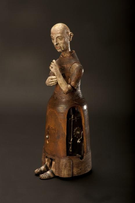 Механическая фигурка монаха. /Фото: ids.si.edu