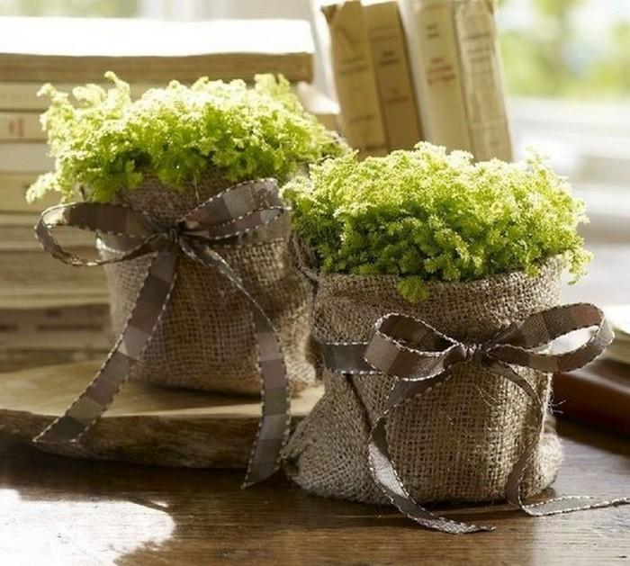 Стильный декор для домашних растений. /Фото: i2.wp.com