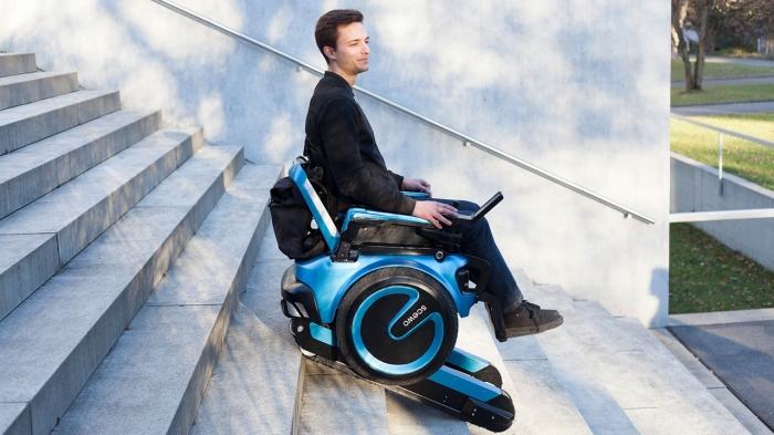 Удивительное изобретение, предназначенное для людей с ограниченными возможностями. /Фото: i.ytimg.com