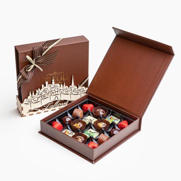 Эстетичная упаковка повышает вероятность того, что продукт купят. /Фото: chocolala.ee