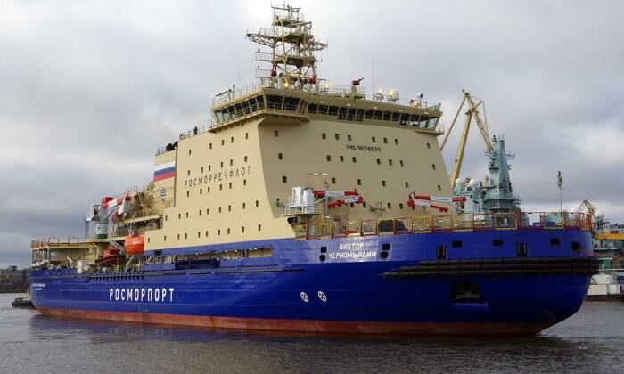 Ледокол «Виктор Черномырдин». /Фото: cruisemapper.com
