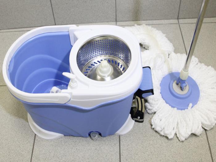 Правильный выбор швабры может сэкономить половину времени, затрачиваемого на уборку. /Фото: navseruki.guru