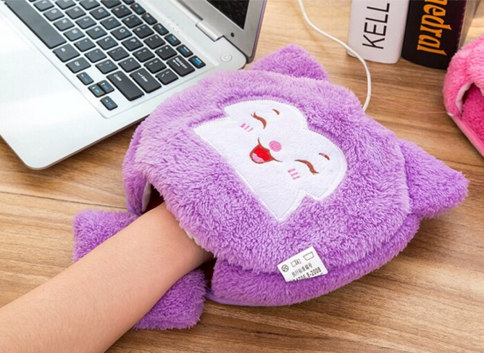 Забавный коврик для мыши согреет руку и создаст уютную атмосферу. /Фото: ae01.alicdn.com