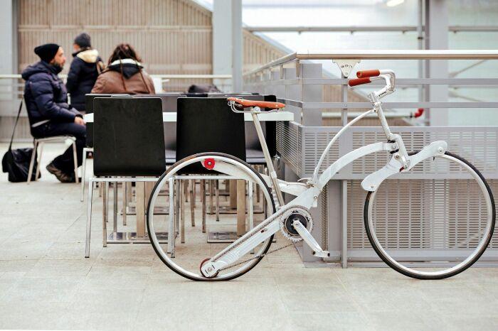 Sada Bike складывается сверхкомпактно. /Фото: i.pinimg.com
