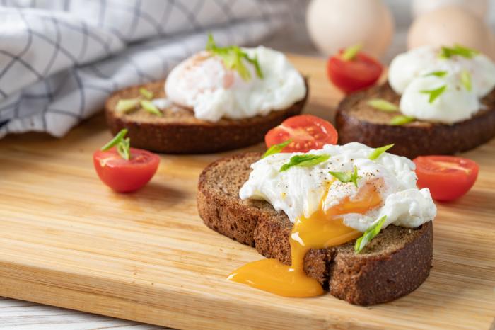 Яйца — отличный вариант для завтрака. /Фото: zira.uz