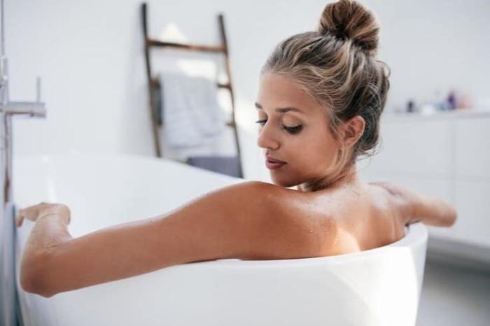 Содовая ванна – мощное средство для оздоровления организма. /Фото: allnaturalideas.com