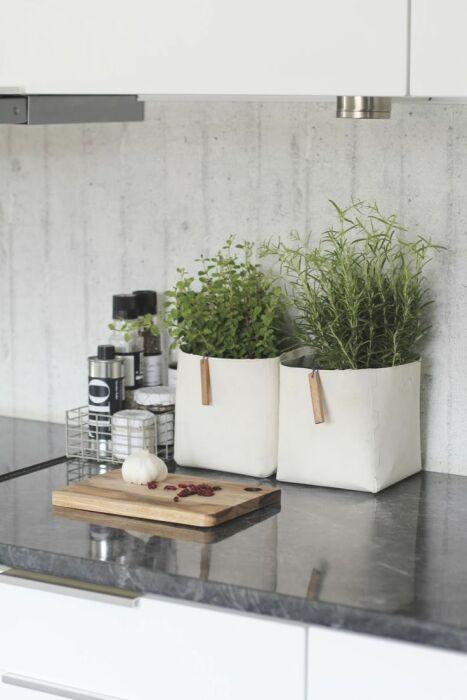 Приправы отлично смотрятся на кухне. /Фото: i.pinimg.com