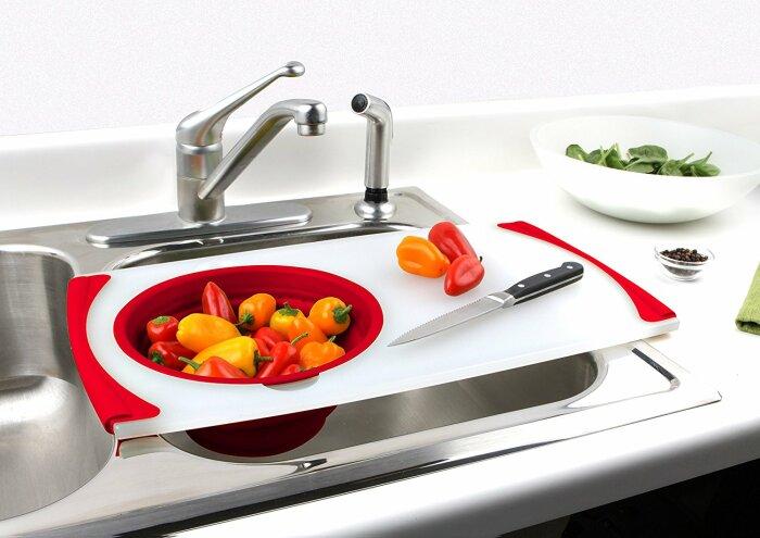 Оригинальное решение, которое точно сослужит хорошую службу в небольшой кухне. /Фото: ru.xmyueshi.com