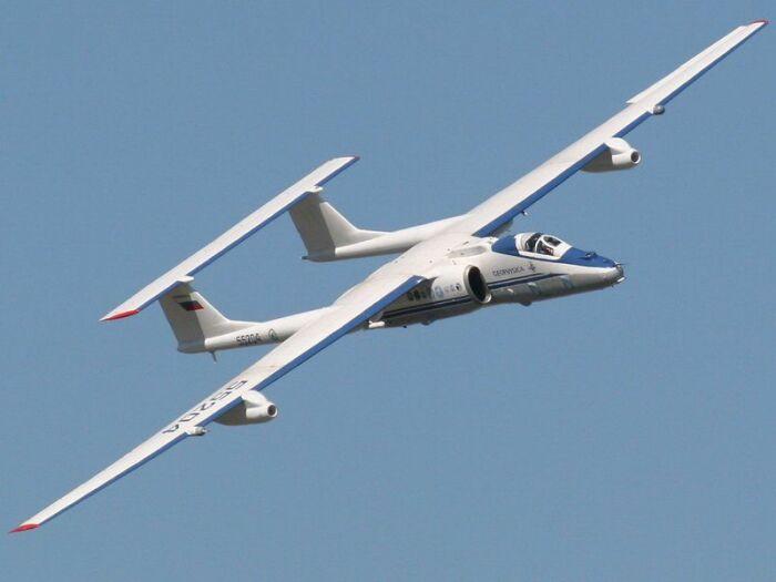 М-55 «Геофизика» играет большую роль в изучении глобального изменения климата Земли. /Фото: i60.fastpic.ru