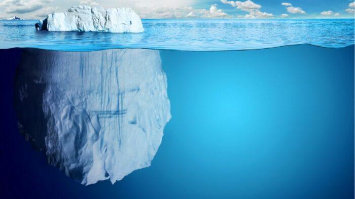Фантастическая идея – превратить айсберг в мобильный аэродром. /Фото: media.cntraveller.in