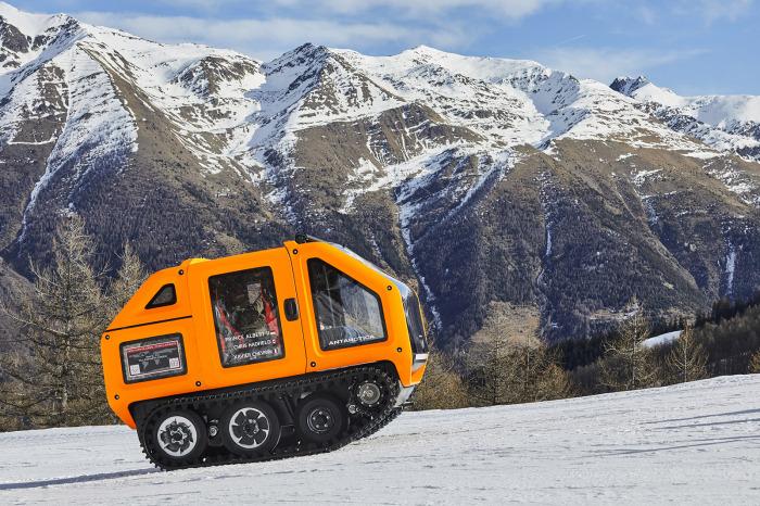 Venturi Antarctica EV на испытаниях. /Фото: i2.wp.com