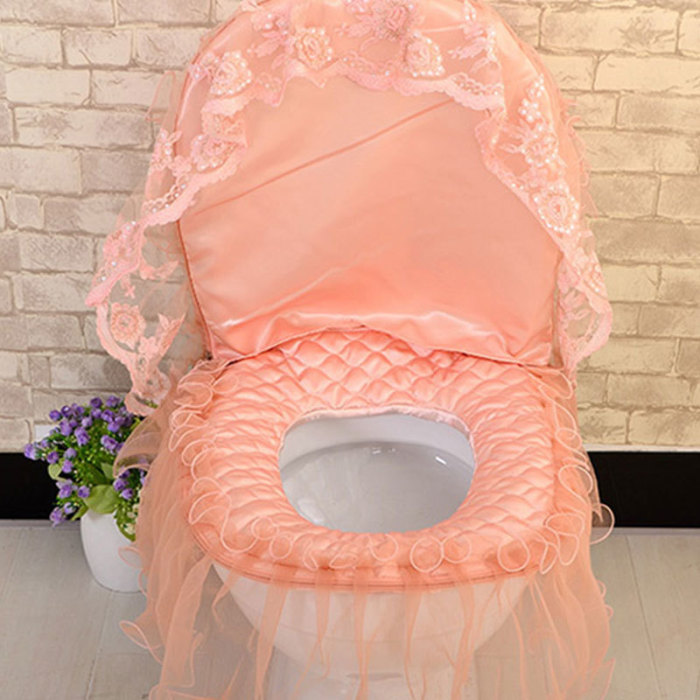 Необыкновенный декор унитаза может удивить любого. /Фото: dhresource.com
