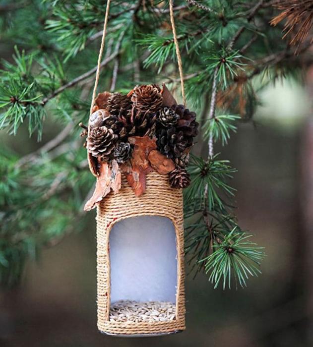 Полезное изобретение, за которое птички будут очень благодарны. /Фото: pol-master.com