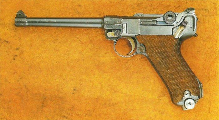 Парабеллум, модель 1904. /Фото: i1.wp.com