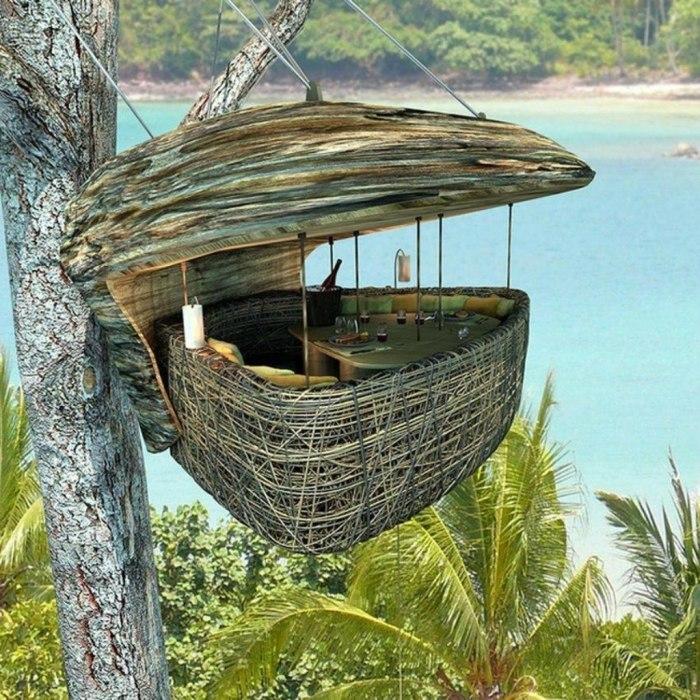 За столиком в воздухе открывается потрясающий вид на окружающий ландшафт. /Фото: forextraderportal.com