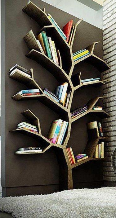 Красивое и эффектное дерево знаний. /Фото: zimmo.be
