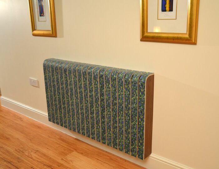 Цветовое оформление делает этот экран эксклюзивным оформлением комнаты. /Фото: i.pinimg.com