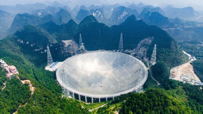 FAST телескоп помогает китайским астрономам познавать тайны космоса. /Фото: media.wired.com
