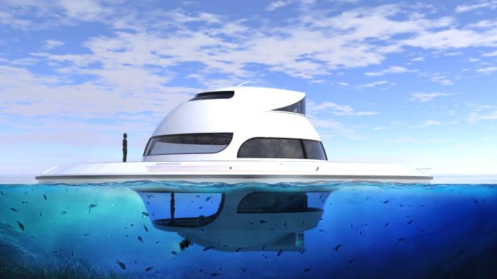 Концепт UFO 2.0 футуристичен до последней линии. /Фото: jetcapsule.it