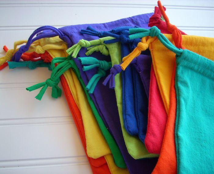 В таких мешочках можно хранить что угодно. /Фото: i.pinimg.com