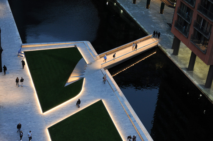 Мост Bridge Fan в сложенном виде. /Фото: paddingtonnow.co.uk