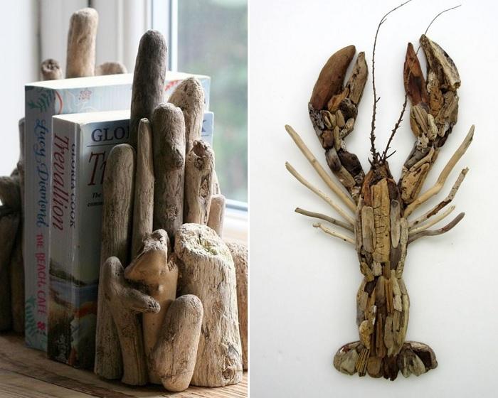 Ветки и сучья – отличный материал для создания различных предметов декора.