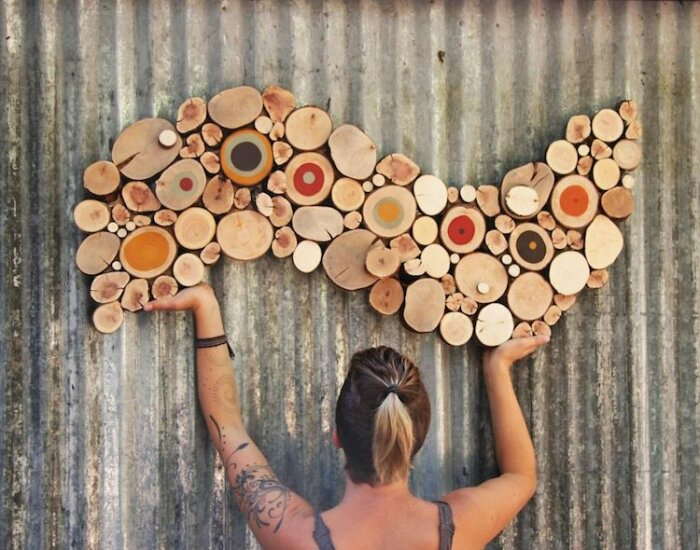 С помощью краски и дерева можно привлечь внимание. /Фото: awesomeinventions.com