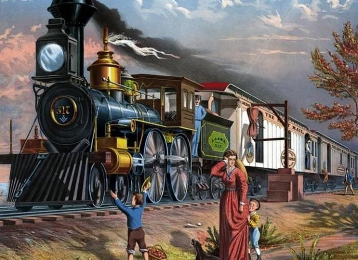 Беременным рекомендовали отказываться от поездок на автомобиле в пользу поездов. /Фото: images2.minutemediacdn.com