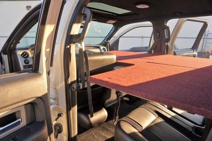 Удобная система, которая в собранном виде занимает минимум места. /Фото: doityourselfrv.com