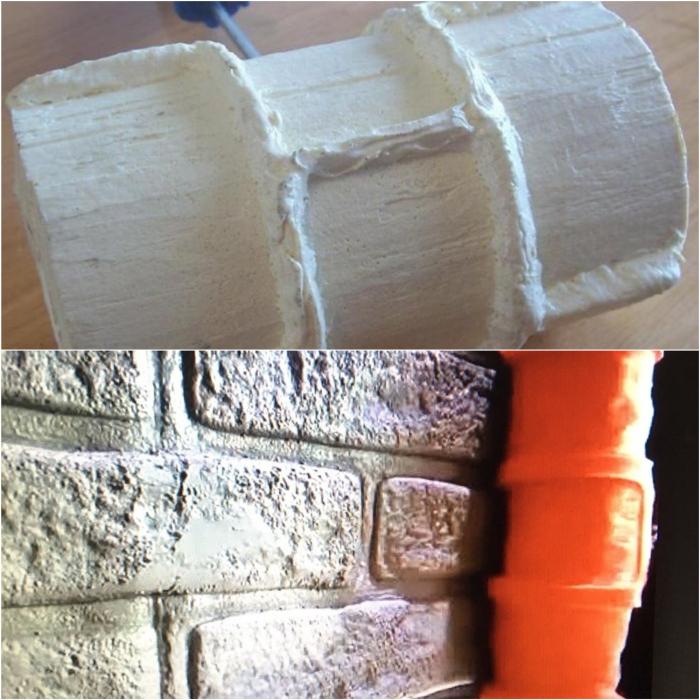 Стиль лофт можно воплотить в жизнь обычной штукатуркой и валиком.