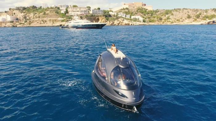 Jet Capsule – самая маленькая яхта в мире. /Фото: jetcapsule.com